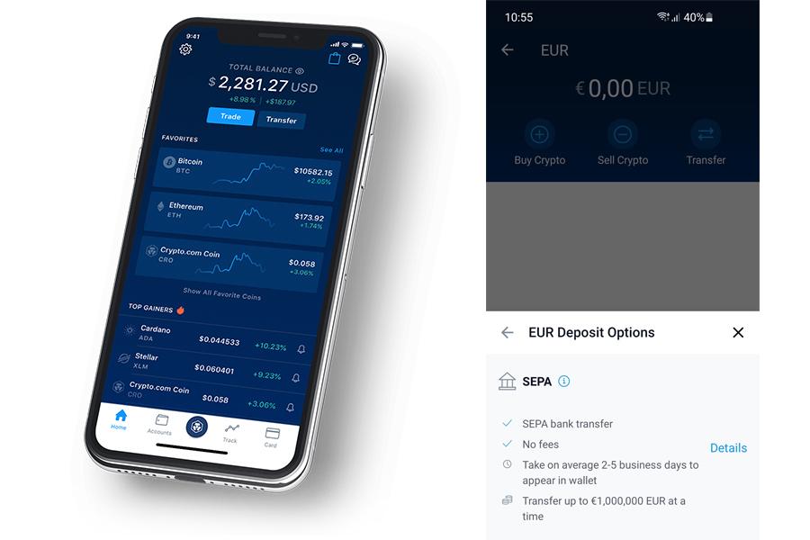 Crypto.com aplikace