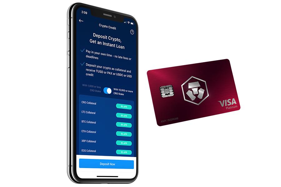 Crypto.com Credit - půjčka