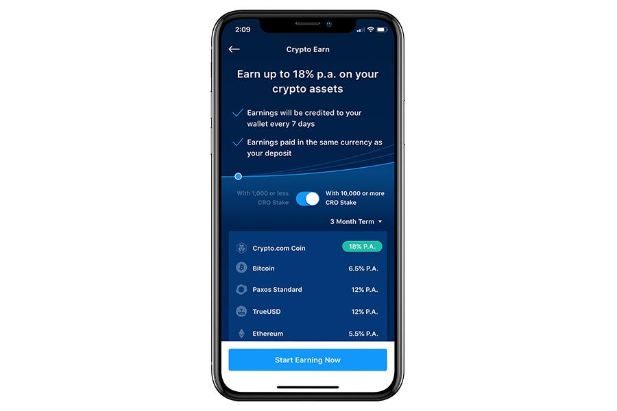 Crypto.com Earn