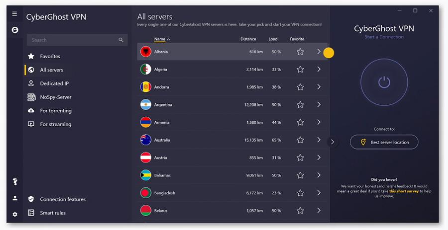CyberGhost VPN recenze