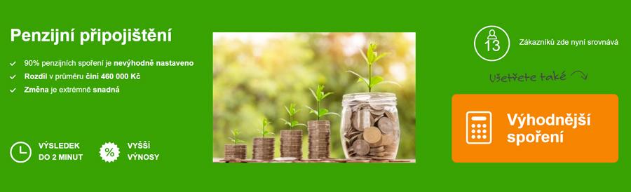 ePojištění - penzijní připojištění