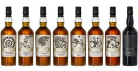 Game of Thrones Whiskies Set