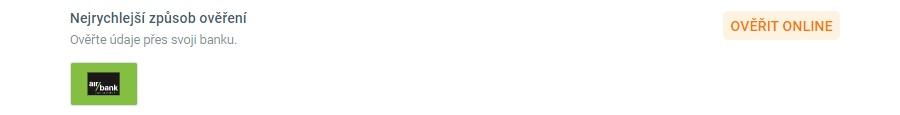 Korunka - online ověření