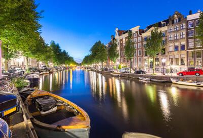 Levné letenky do Amsterdamu