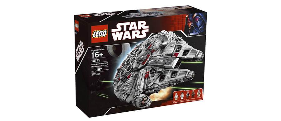 LEGO millennium falcon 2007
