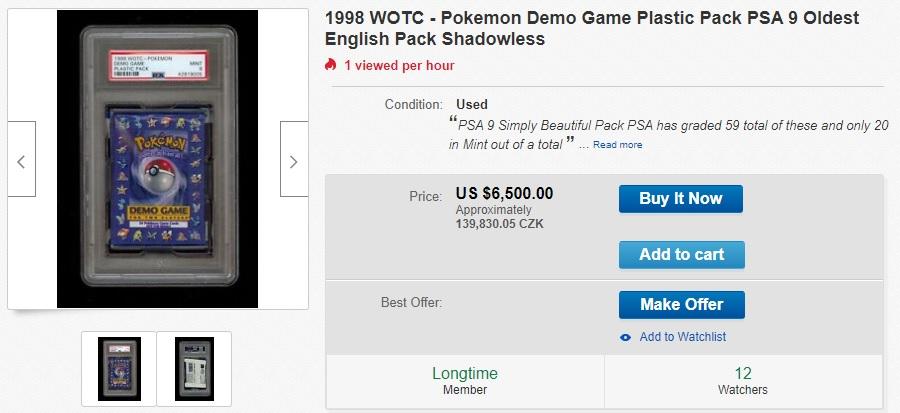 Pokémon demo game pack