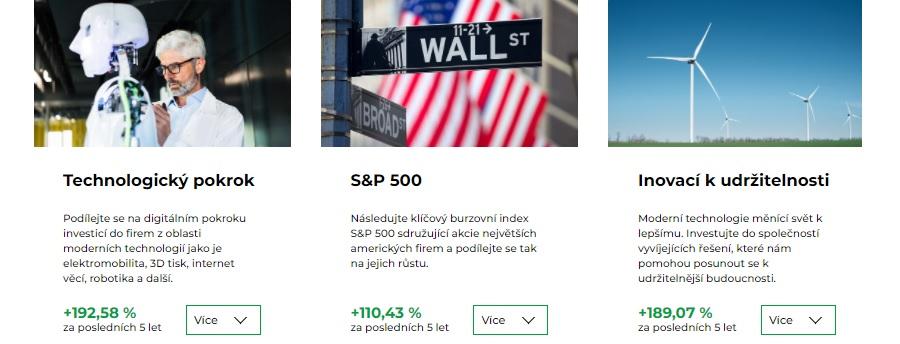 Portu - investiční bloky