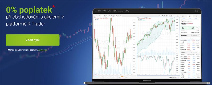 RoboMarkets - R Trader akcie bez poplatků