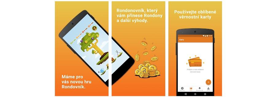 Rondo - mobilní aplikacei